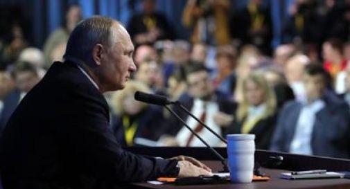 Putin avverte: