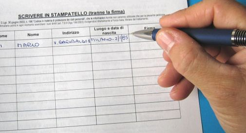 raccolta firme a Fontanelle