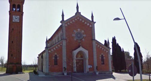 la chiesa di Rivarotta