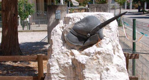 il monumento agli Alpini a Roncadelle di Ormelle