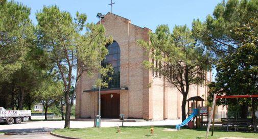 la parrocchiale di San Cipriano di Roncade (foto Desti)