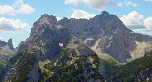 Crolla roccia Sorapis a Cortina
