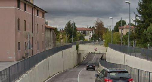 il sottopasso di via Spiné a Oderzo