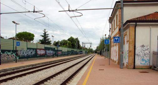la stazione ferroviaria di Oderzo