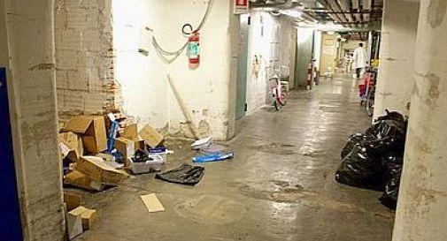 Dormivano in seminterrati ospedale di Verona