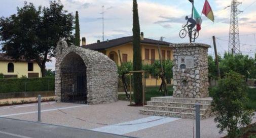 il tempio del Ciclista di via Calderba