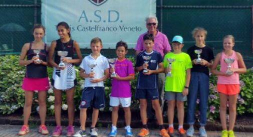 tutti i premiati del torneo di Castelfranco