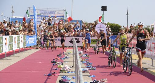 Caorle ancora tricolore con il duathlon assoluto sprint individuale e a squadre