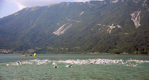 un'immagine della frazione di nuoto