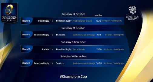 Parte del calendario di Champions