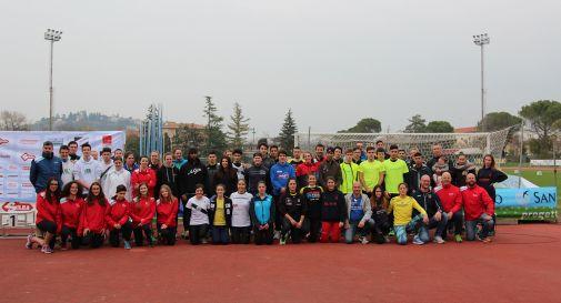 Foto di gruppo 6° Trofeo Giavellotti Trevigiani 2017