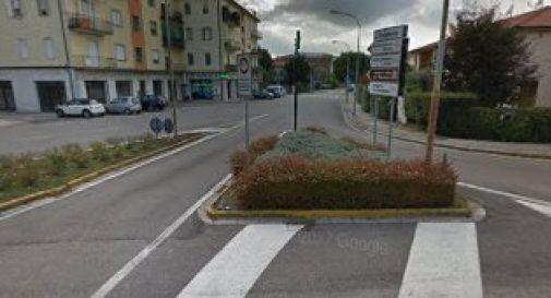 lo sbocco di via Marignana sul Terraglio