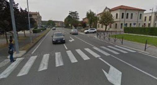 il passaggio pedonale in via Postumia centro a Gorgo al Monticano