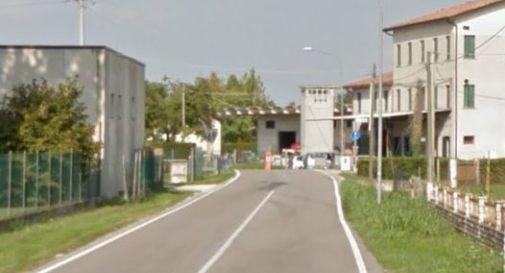 un tratto di via Tiveron