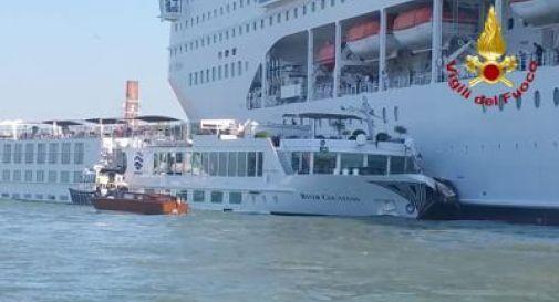 La nave Msc coinvolta nell'incidente torna a Venezia dopo 2 settimane