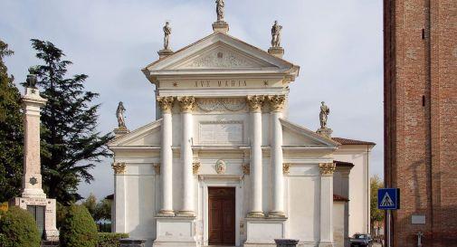 la chiesa di Zero Branco