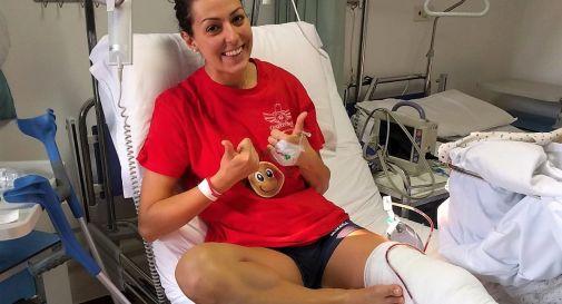 Sara Zonta in ospedale
